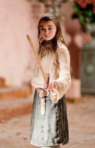 Arya Stark, little, but still badass