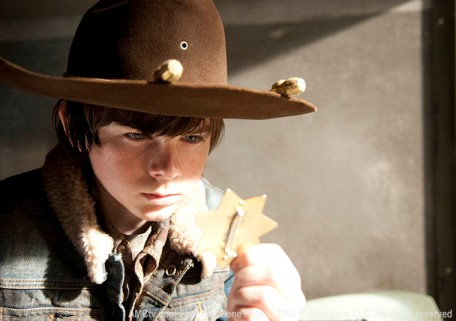 Is Carl trying to live up to his father's legacy? Or is he turning into a ruthless killer?