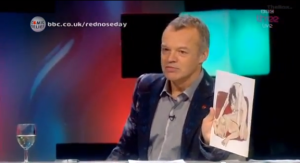 Graham Norton showing Martin Freeman explicit fanart.