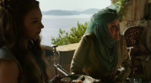 Margaery and Olenna Tyrell, too awesome for Lannister crap