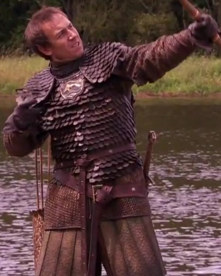 Edmure is not so good with the arrows.