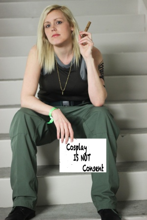 Cosplay is not Consent Starbuck